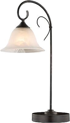 GLOBO 68410-1T Lampe, Métal Couleur Rouille