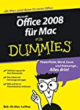 Office 2008 für Mac für Dummies (German Edition)