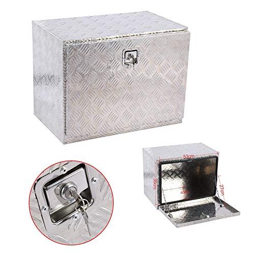 Cocoarm Werkzeugkasten Deichselbox Transportbox Alubox Alukoffer Staubox PKW Anhänger Werkzeug-Kiste Koffer Aluminium