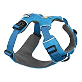 RUFFWEAR, Front Range Dog Harness, Reflective and Padded Harness for Training and Everyday, Blue Dusk, Small