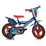 Dino Bikes 123 SPH - Bicicletta Spiderman Misura '' 12 Nuova versione