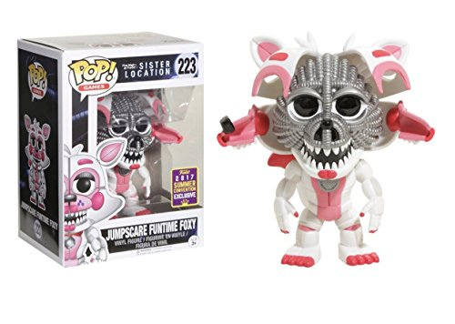 Funko Five Nights At Freddy'S Sister Location Pop Vinyl Figure 223 Jumpscare Foxy SDCC Summer...