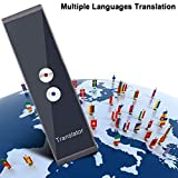 YMJJ Traductor de Voz Inteligente, interpretación simultánea de Idioma Inglés Chino Francés Español ...