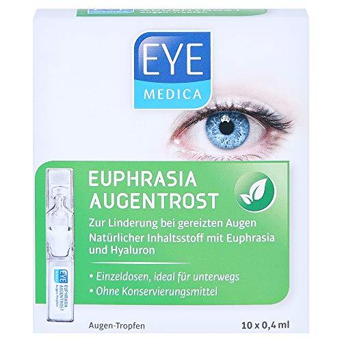 EYEMEDICA Euphrasia Augentrost Augentropfen 10x0.4 Milliliter