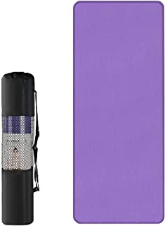 "Lixada Yoga Mat 10mm Extra Thick Non Slip Exercise & Fitness Mat for All Types of Yoga, Pilates & Floor Workouts (72"" x 24..."