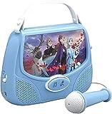 Frozen II FR-v111V2 Ekids Frozen 2 Mini Karaoke Maschine V111, Blau -