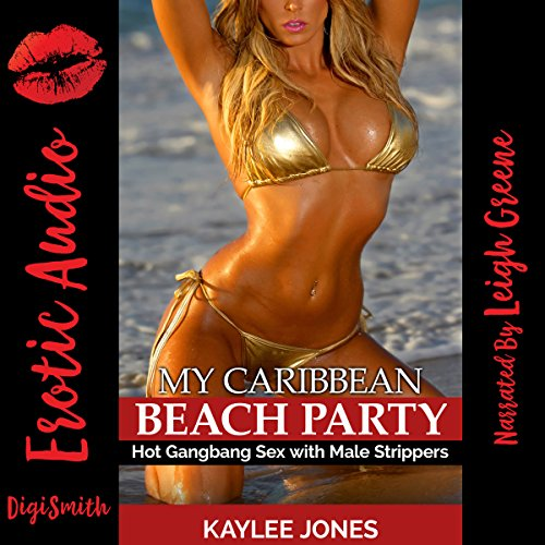 My Caribbean Beach Party audiobook cover art