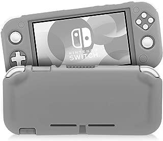 Nintendo Switch Lite シリコンカバー ニンテンドースイッチライト ケース 耐衝撃 全面保護 キズ防止 ホコリ防止 触り心地よい Switch Lite対応 ニンテンドースイッチライト ケース(グレー)