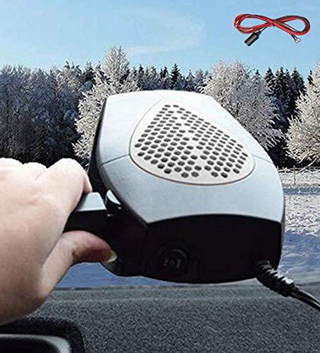 XYQCPJ El Calentamiento De La Manija De La Luneta Térmica De Vehículo De Nieve Y De Enfriamiento Calentador De Ventilador 12v Calefacción del Coche Portable 2en1 Ergonómico Encendedor Plug