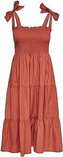 Only Onlmaggie Strap Dress WVN Robe Femme