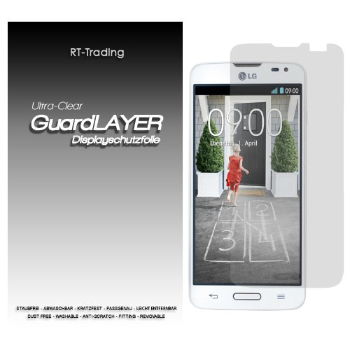 RT-TRADING LG L90 DISPLAY SCHUTZFOLIE KLAR FOLIE SCREEN PROTECTOR HANDY SCHUTZ DISPLAYFOLIE