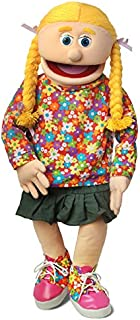 """30"""" Cindy, Peach Girl, Professional Performance Puppet with Removable Legs, Full or Half Body"""