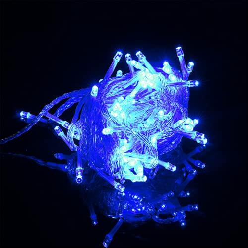 Wandskllss Led Rgb Ribbon 50M Potente Cinta Led Solar Para Iluminación Navideña Bajo Iluminación Amarilla En ArmarioAzul30m300 lámparas