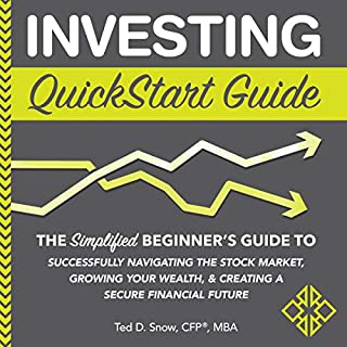 Investing QuickStart Guide audiobook cover art