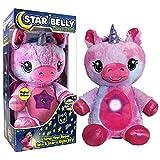 Star Belly Dream Lites Peluche Unicornio Que proyecta un Cielo de Estrellas de Colores en la habitación.