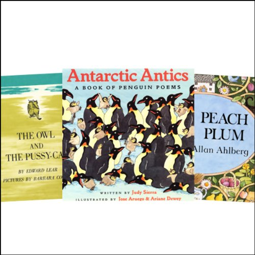 The Owl and the Pussycat, Antarctic Antics, Each Peach Pear Plum, & Over in the Meadow audiobook cover art