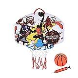 Exuberia Canasta Baloncesto Infantil Interior, Mini Canasta De Baloncesto, Juegos De Aire Libre Y De Interior para Niños