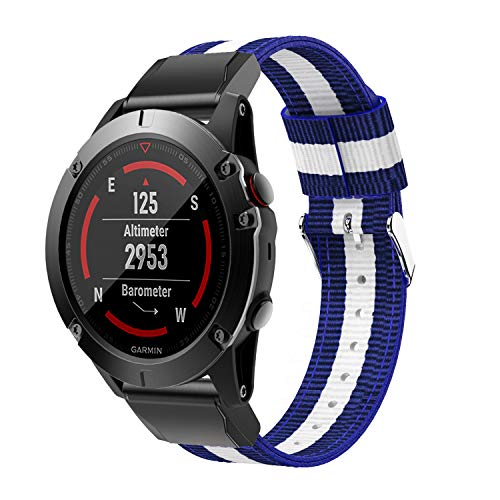 Review Of DKEnjoy Nylon Quick Fit Sports Wrist Band Replacement Watch Strap Bracelet Compatible for ...
