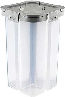DZCGTP Récipient à Grains en Plastique Distributeur De Céréales Boîte De Rangement Cuisine Alimentaire Grain Riz Conteneur...