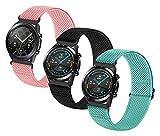 MPWPQ Correa elástica de nailon compatible con Galaxy Watch3 de...