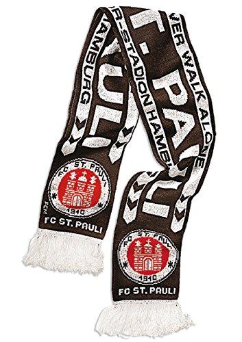 FC St. Pauli Standard Schal Fanschal Scarf (braun, one size)