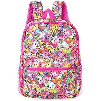 Shopkins Girls' All Over Print Backpack (Mult | Shopkin.Toys - Image 1