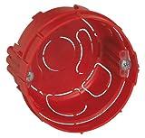 Legrand LEG90511 Boîte Batibox pour murs parpaings, briques - 1 poste - Profondeur...