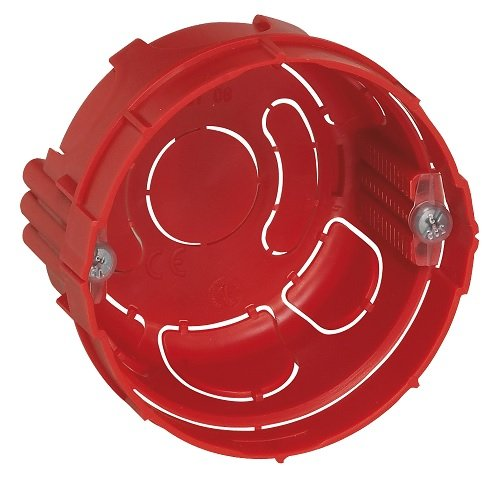 Legrand LEG90511 Boîte Batibox pour murs parpaings, briques - 1 poste - Profondeur 30 à 40 mm