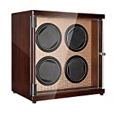 CHIYODA Watch Winder for Men's and Women's Automatic Watch with Independent Motors, LCD