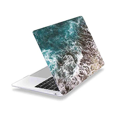 PrettyR for MacBook Pro 13 16 inch Case Touch bar 2019 A2159 A2141 Clear Soft Touch Laptop Cover for Mac Air 13 A1932 A1466 A2179-Z445-For MacBook 16 A2141