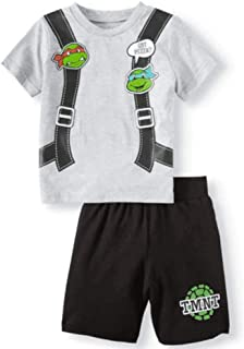 Boys Teenage Mutant Ninja Turtles TMNT Got Pizza Shorts and T-Shirt Set Sleepwear Activewear