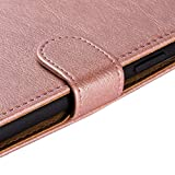 Case Collection Premium Leather Folio Cover for Huawei P Smart 2021 Case (6.67