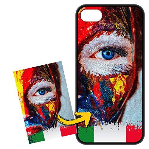 FarmyGadget Cover Apple iPhone 7/8 / SE (2020) Personalizzata Custom Case Custodia Morbida Soft TPU - Personalizzabile con Foto, Immagine, Testo, Loghi