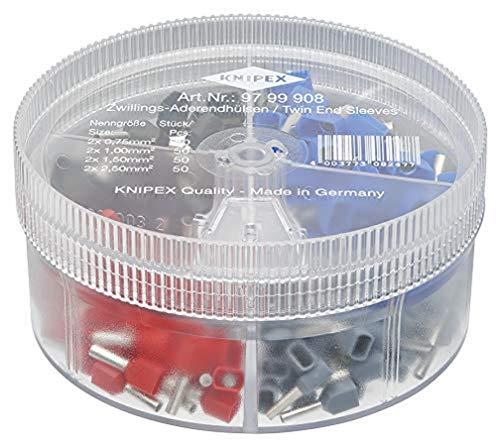 KNIPEX Sortimentsboxen mit Twin-Aderendhülsen 97 99 908