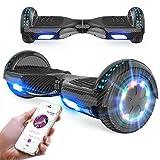 RCB Hoverboard 6,5 Zoll Elektro Skateboard für Kinder und Jugendliche Elektroroller mit Bluetooth -...