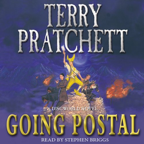 Going Postal audiobook cover art
