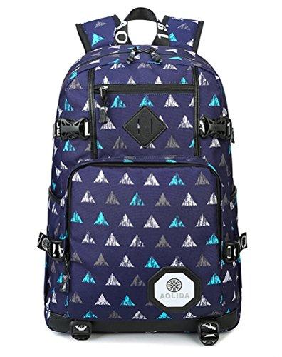 beibao shop Backpack Sacs à Dos pour Ordinateur Portable Loisirs Camouflage Tissu Oxford Zipper Épaule Extérieur Multi-Fonctionnel Sac à Dos d'ordinateur, 003