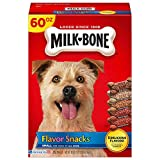 Milk-Bone Flavor Snacks Dog Treats for Dogs of All Sizes, Small Treats, 60 Ounces
