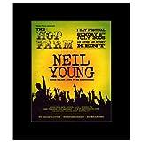 Music Ad World Mini-Poster, Motiv Neil Young - Hop Farm