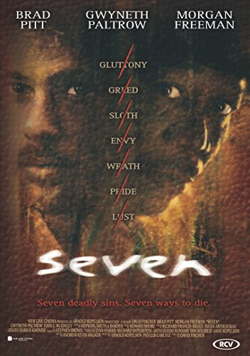 Posters USA - Se7en Seven 7 Movie Poster GLOSSY FINISH - MOV116 (24' x 36' (61cm x 91.5cm))