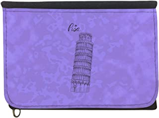 Landmarks - Leaning Tower of Pisa Printed Case Wallet,  jeans