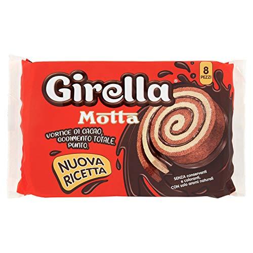 Motta Girella al Cacao,Confezione da 8 Merendine