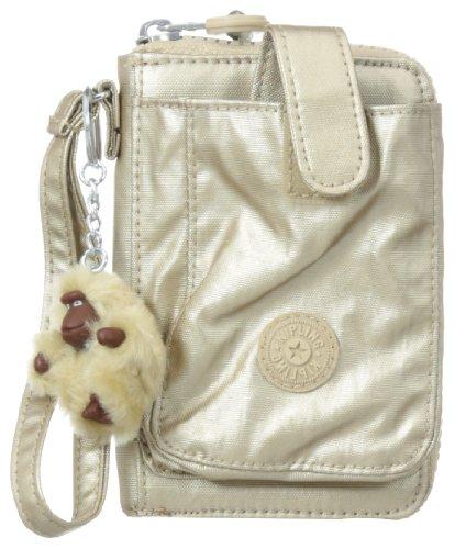 Kipling Pattie GM Wallet, Toasty Gold, One Size