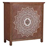 Sophia & William Accent Storage Cabinet with Wood Frame and Premium MDF Doors and Metal Knobs, Modern Decorative Floor Cabinet Chest Organizer for Entryway Hallway Lvinig Room, 33.1' Lx15 Wx35.4 H