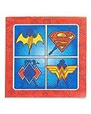 American Greetings DC Super Hero Girls Paper Napkins for Kids (16-Count)