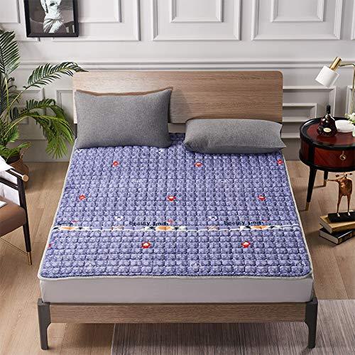 LXSHMF Tatami Dormir Colchón De Futón,Tradicional Japonés Futón Colchón Pad,Anti-resbalón Plegables Colchón Mat para Salón Dormitorio-Yo 90x200cm