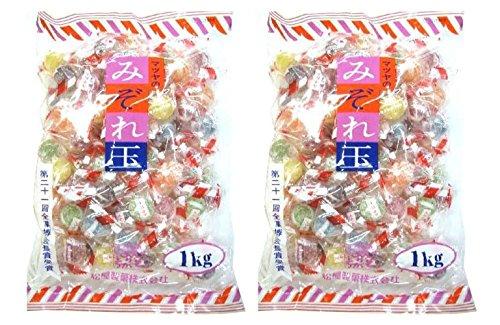 松屋製菓 みぞれ玉 1kg ×2袋セット