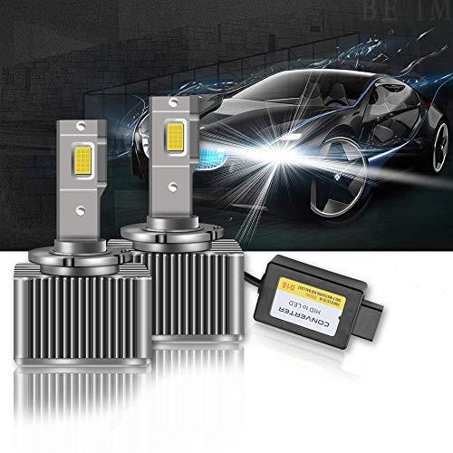 OPL5 D1S LED 100% Canbus Luz Blanca de Xenón HID para Autom