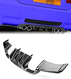 US Real 3K Carbon Fiber Rear Trunk Bumper Exhaust Diffuser For BMW E92 M3 Coupe 2008 2009 2010 2011 2012 2013