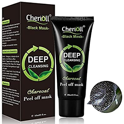 Charcoal Face Mask, Blackhead Mask, Peel Off Mask, Bamboo Charcoal Peel Off Mask, Deep Cleansing Blackhead Remover Anti Acne Oil Control Purifying Activated Carbon Remover Deep Cleaning Facial Mask from Toulifly